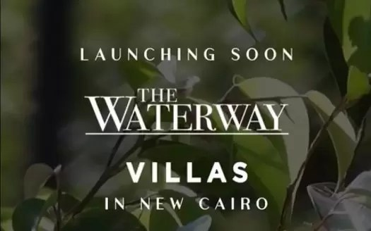 waterway villas new cairo