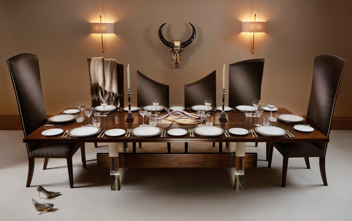 The Curve 10 Seater Dining Table And Chairs From The