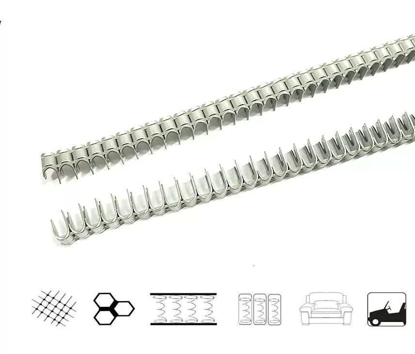 Spring Clip,strip and roll Mattress Clips Manufacturers