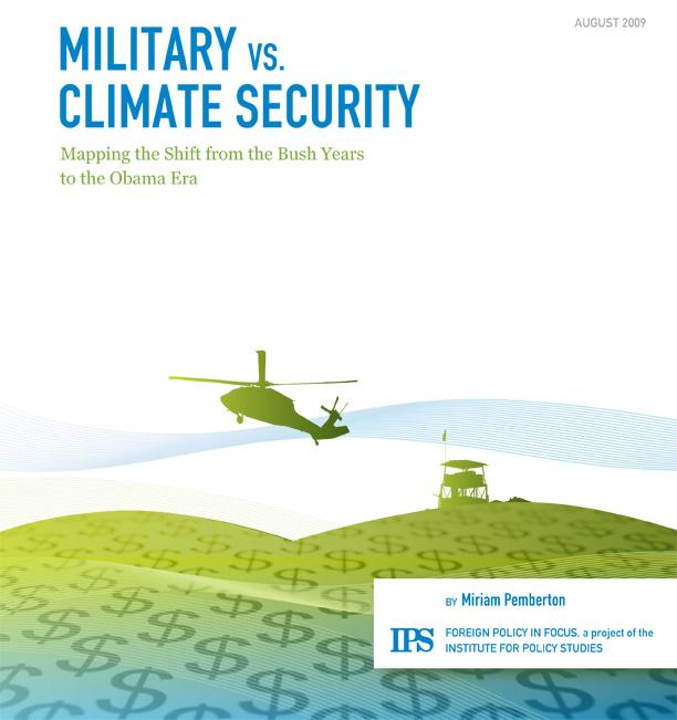 Military vs. Climate Security: Mapping the Shift from the Bush Years to the Obama Era