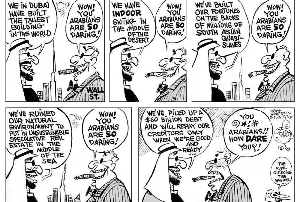 Bye-bye, Dubai