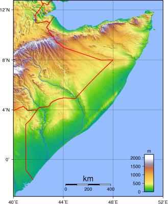 somalia aerial view