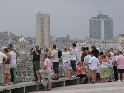 Cuban tourists
