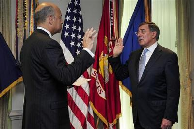 It seems that Leon Panetta swore to blur any distinction between military and civilian control of U.S. wars. Photo by PACOM.