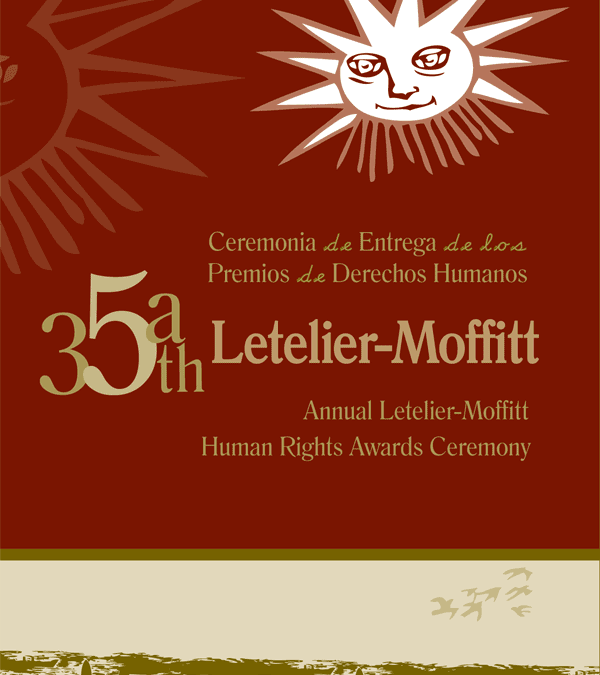 35th Annual Letelier-Moffitt Human Rights Awards