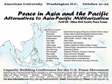 Peace in Asia and the Pacific