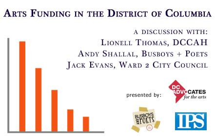 Panel Discussion on Arts Funding in DC