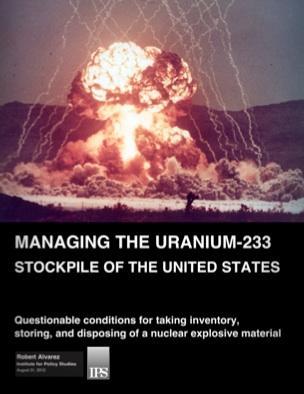 Managing the Uranium-233 Stockpile of the United States