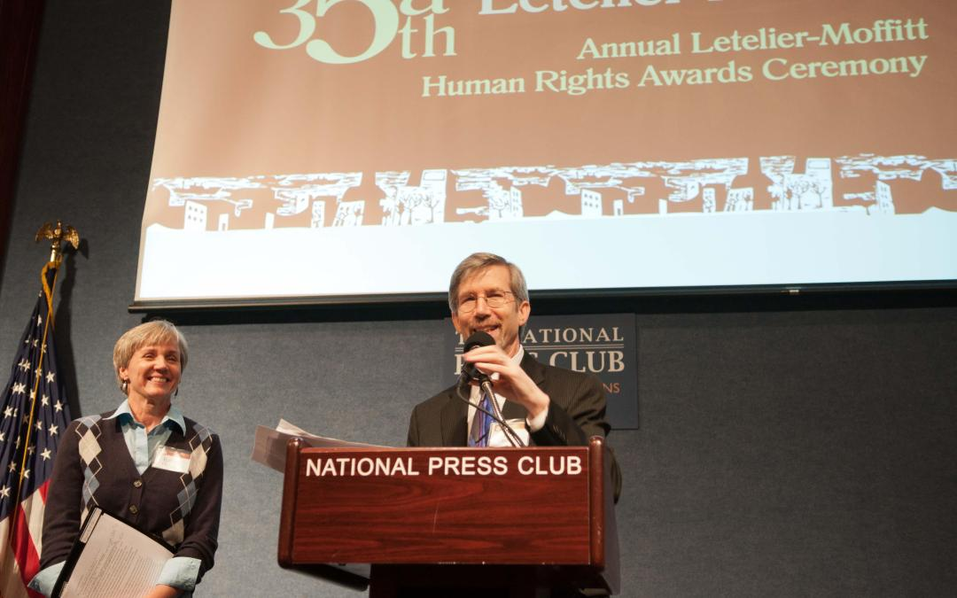 John Cavanagh: Letelier-Moffitt Awards Speech