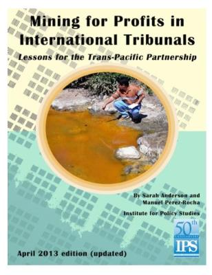 Mining for Profits in International Tribunals