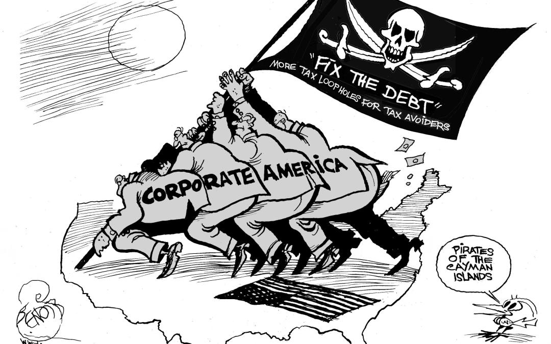 New Report: Corporate Pirates of the Caribbean