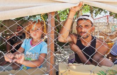 Syrian refugees in southern Turkey.