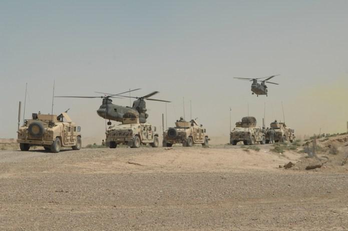 U.S. army vehicles Iraq