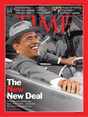 President Obama FDR Time Magazine
