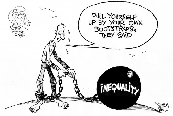 Inequality Is Costing Us Big-Time