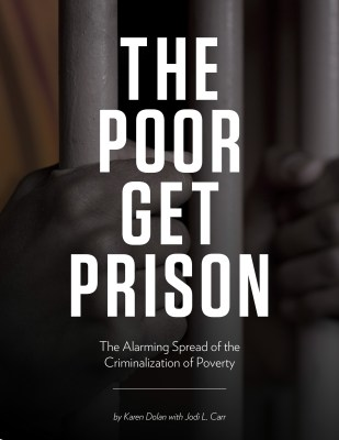 The Poor Get Prison Report Cover