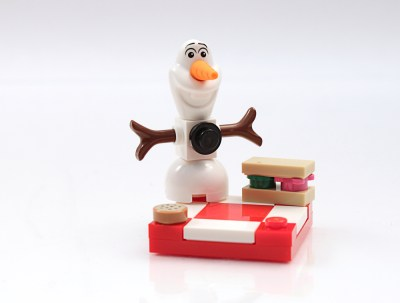 cjmacer lego olaf snowman