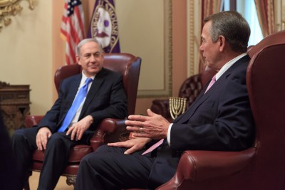Rep. Boehner and PM Benjamin Netanyahu