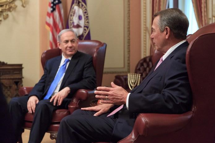 Rep. Boehner and Israeli PM Benjamin Netanyahu
