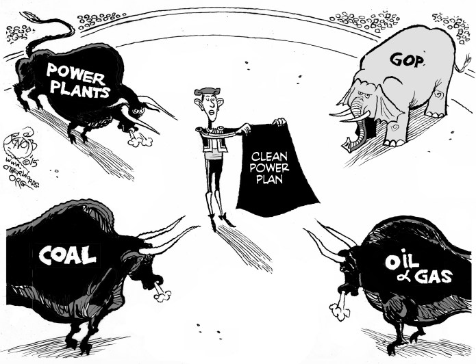 (Image: The Clean Power Plan Enters the Ring, Khalil Benbib)