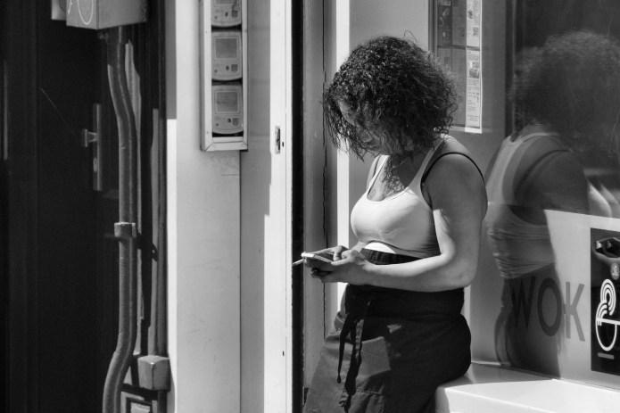 waitress-outside-cigarette-break