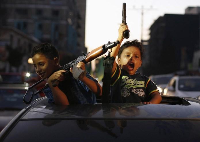 children-with-guns