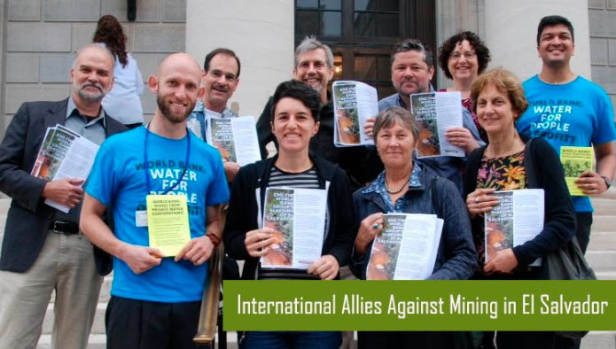 International Allies against Mining in El Salvador