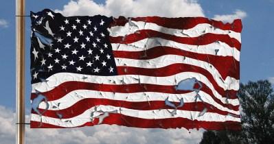Breaking Up U.S. Flag