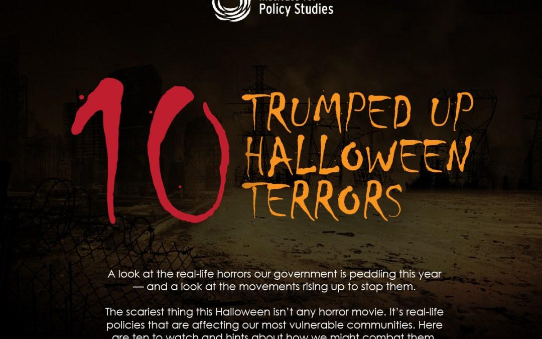 10 Trumped Up Halloween Terrors
