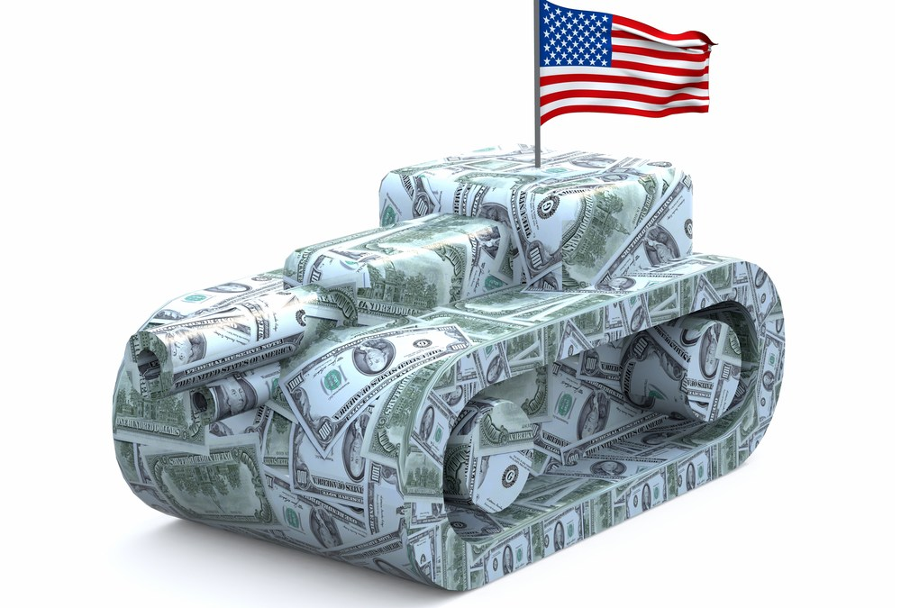 The U.S. Spends More on Its Military Than 144 Countries Combined
