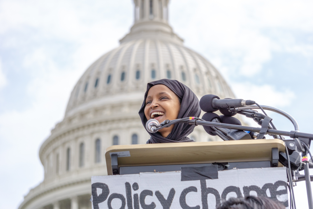 Ilhan Omar Is Fighting for the White Working Class—Even as They Chant 'Send Her Back'