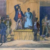 slave-auction-slavery-racial-wealth-divide