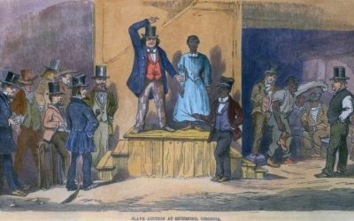 slave-auction-slavery-racial-wealth-divide