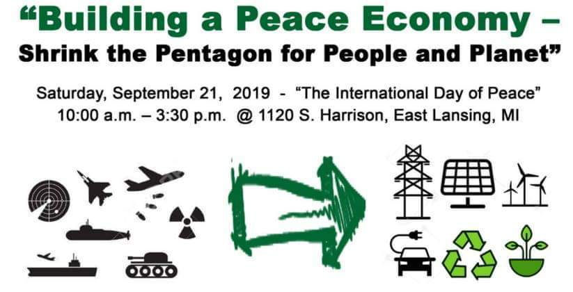 Building a Peace Economy – Shrink the Pentagon for People and Planet