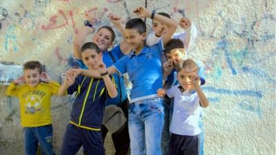 palestinian-children-refugee-camp