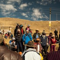 indigenous-Peruvians-protest-mining-pollution