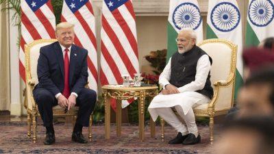 trump-modi-india