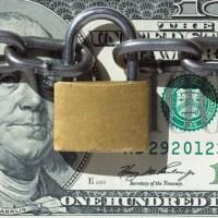 money locked