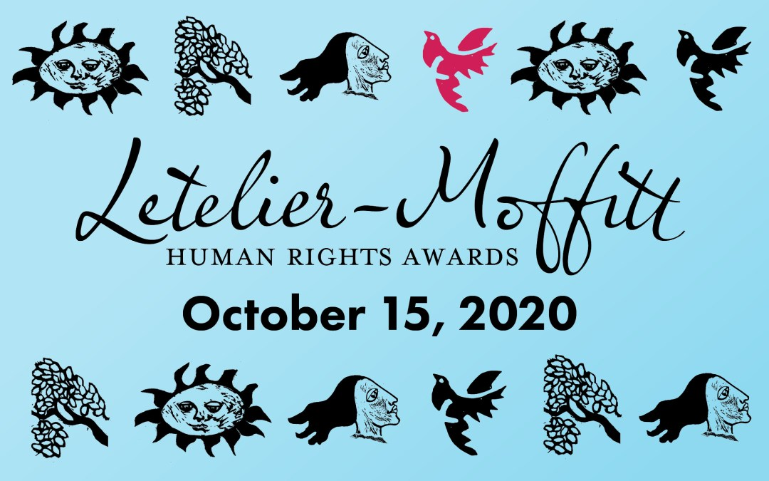 Join us for the 44th Annual Letelier-Moffitt Human Rights Awards