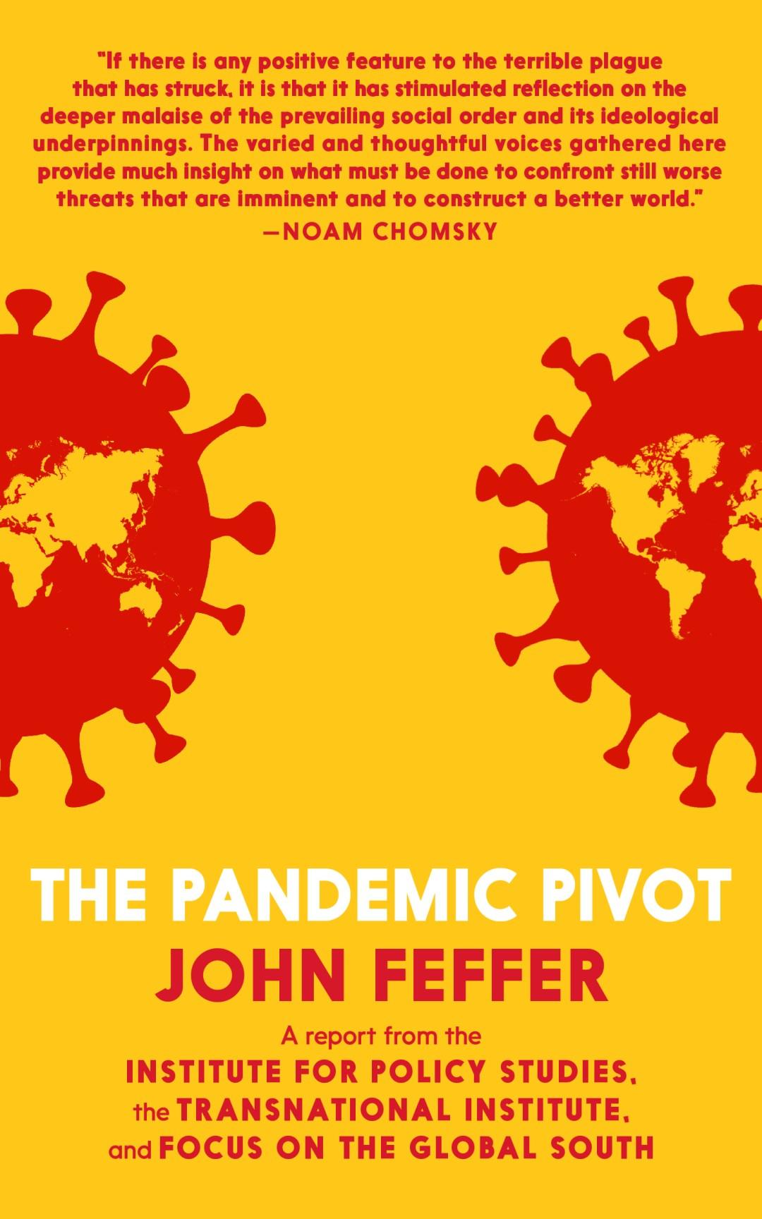 John Feffer's Pandemic Pivot Book Cover