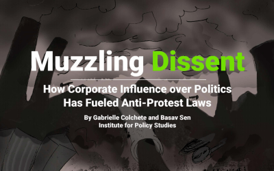 Muzzling Dissent - Anti-Protest report featured image