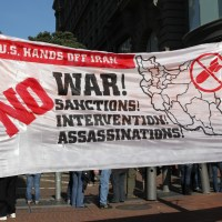 us hands off iran - no sanctions, no war, no assassinations