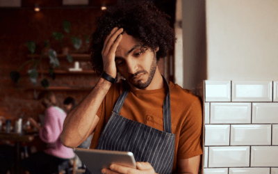 black worker at a restaurant - subminimum wage - tipped wage - minimum wage
