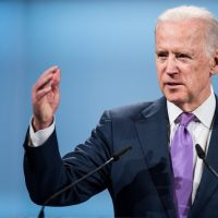joe biden at the munich security conference to depict discussion of US middle east policy including israel and palestine