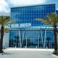 jeff bezos' blue origin building