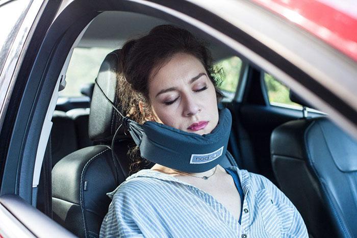 Nopod il cuscino per dormire comodamente in auto e in