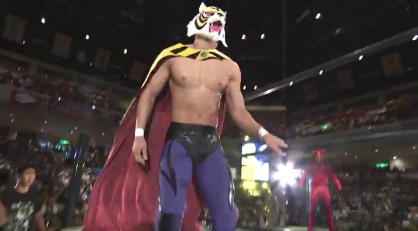 Wrestling torna lUomo Tigre il Giappone impazzisce