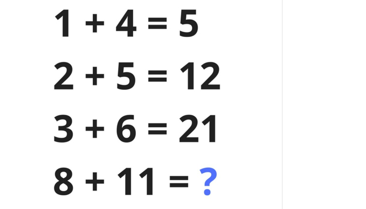 Il test matematico che solo 1 su 1000 riesce a risolvere