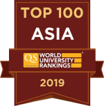 QS Top 100 in Asia 2019
