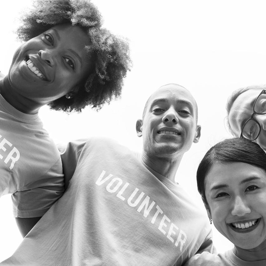 Charity, volunteers